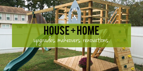Created by V. // House + Home Banner