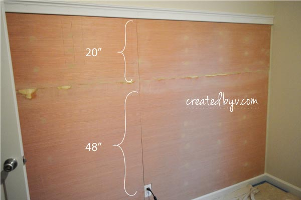 Diy board batten created by v