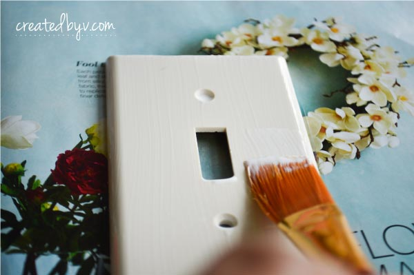 why settle for standard switch plates when you can create your own to suit your decorative
