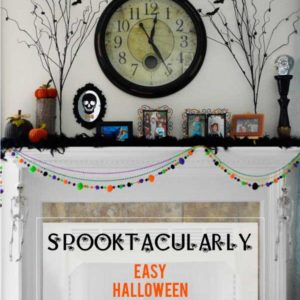 Decorating for any occasion need not be expensive or stressful. Check out these spooktacularly easy and inexpensive ways to decorate for Halloween and have some wickedly good fun!
