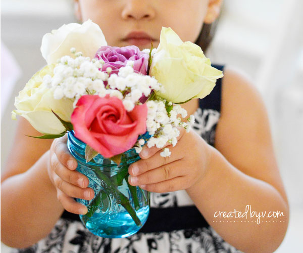 A fancy floral birthday celebration for a little girl who loves all things pretty, pink and princess.