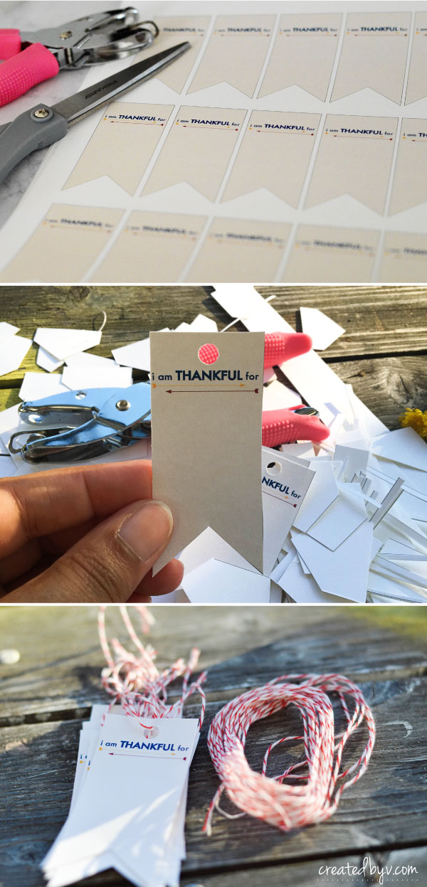 Thankful Tree Tags // With November being the month of thankfulness, here are a few things we do to teach our kids about gratitude.