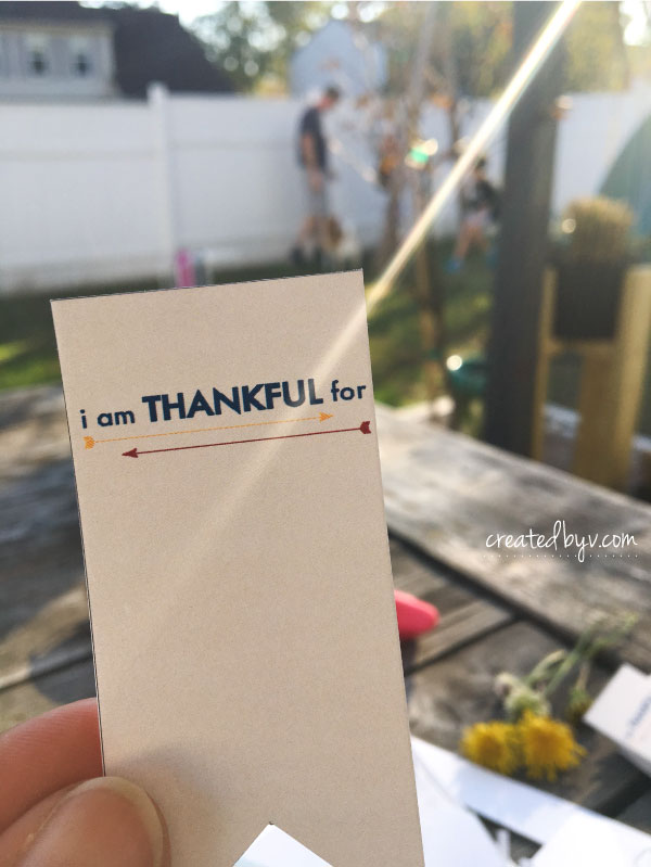 Our Thankful Tree // With November being the month of thankfulness, here are a few things we do to teach our kids about gratitude.