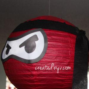 Ninja Birthday Party // www.createdbyv.com