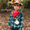 No-Sew Scarecrow Costume // www.createdbyv.com