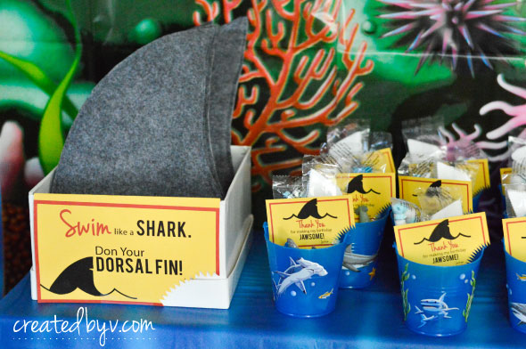 Jawsome Shark Birthday Party Part One Created By V