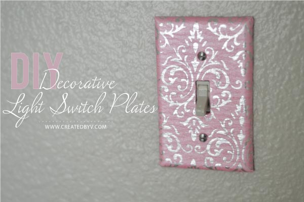 Diy Decorative Switch Plates Amp Outlet Covers Created By V