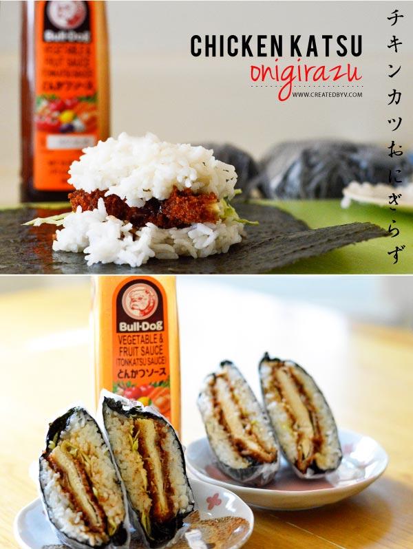 Chicken Katsu Onigirazu Created By V