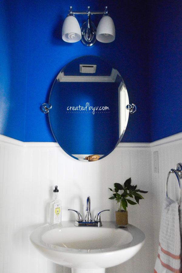 The Half Bath Makeover Created By V