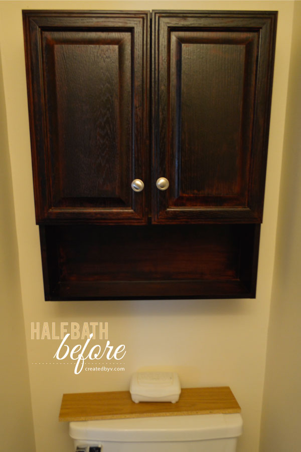 Beautiful The Half Bath Makeover - created by v. ZL55