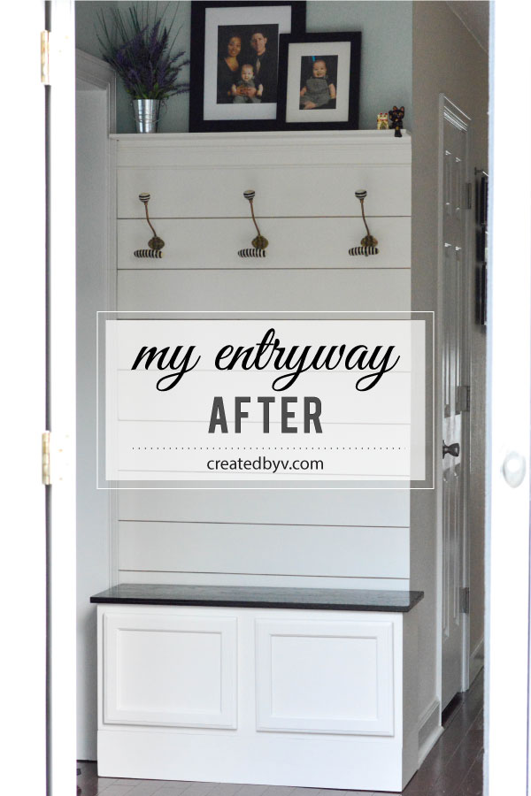 Fabulous Inspired By Loweus Web Series The Weekender We Built A Mudroom  Bench From A With Entryway Bench Lowes.