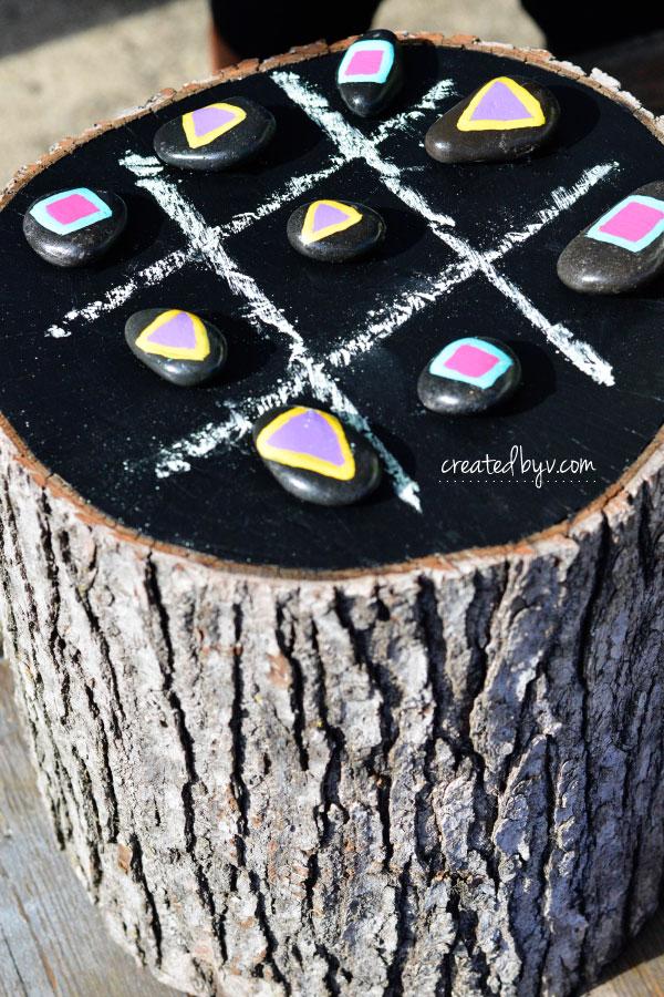 Garden Tic-Tac-Toe Board