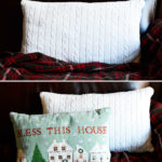 Cozy Up With DIY Sweater Pillows