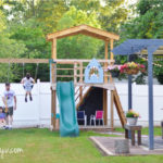 DIY Outdoor Playset // A Year Later
