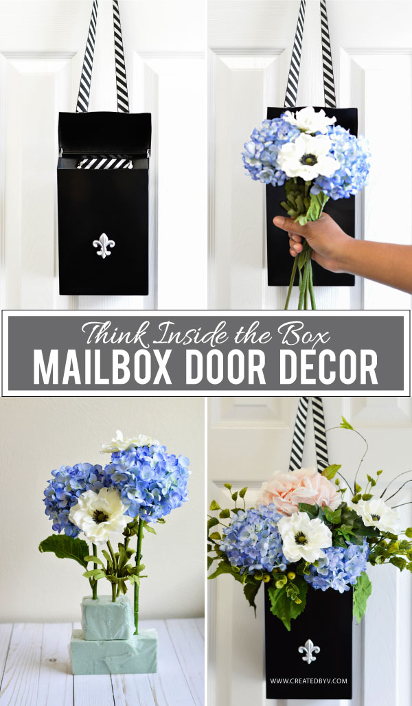 Think Inside the Box // Mailbox Door Hanger - created by v.