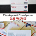 Dealing with Deployment // Care Packages
