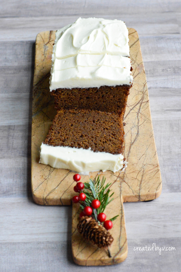 Food Network's Halloween Baking Champion, Rudy Martinez of Man Bakes Cake shares his favorite easy recipe for gingerbread loaf.