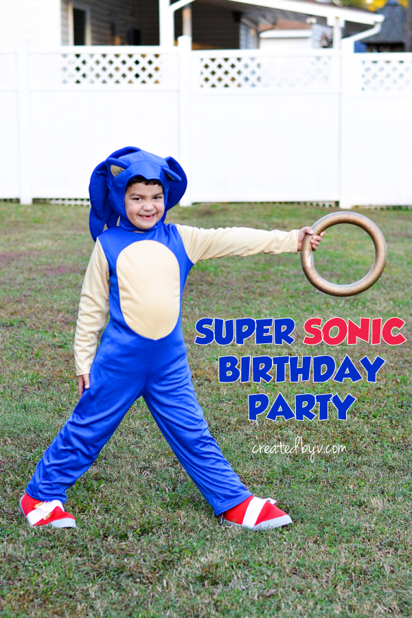 Super Sonic Birthday Party Created By V