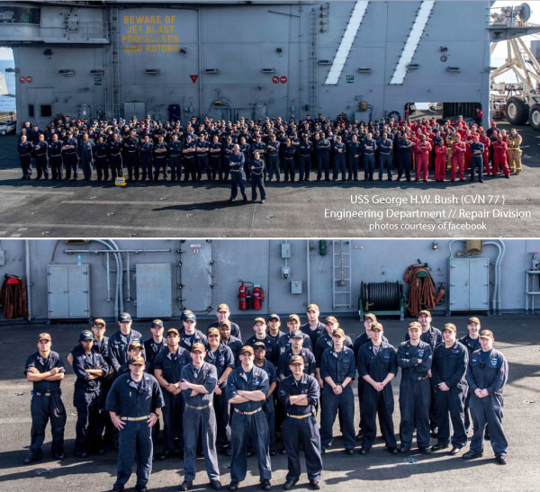 2017: A Year in Review // USS George H.W. Bush (CVN 77) // Highlights and favorite blog posts from the year