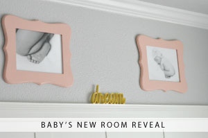 Baby's New Room Reveal