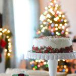 Day 12 ❄︎ Christmas Checkboard Cake