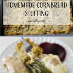 Day 7 ❄︎ Homemade Cornbread Stuffing