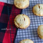 Day 10 ❄︎ Mini Caramel Apple Pies
